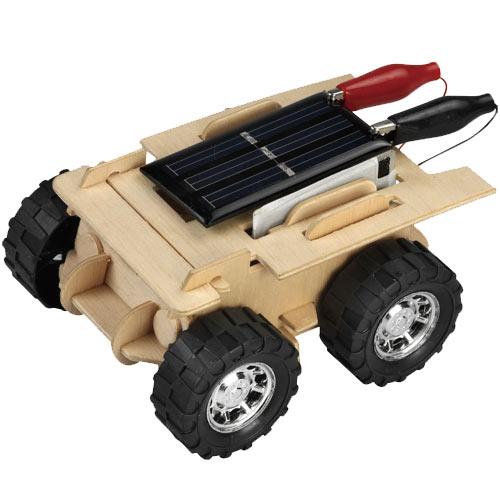 【STEAM手作小學堂】太陽能+鹽水雙能源沙灘車