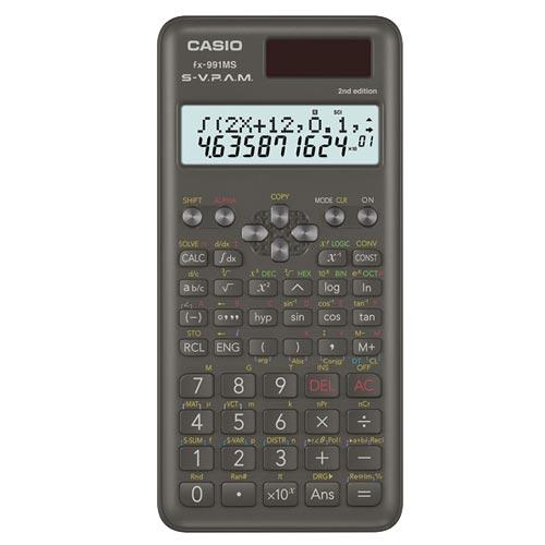 CASIO 工程用計算機 FX-991MS-2
