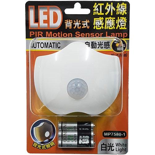 背光式LED紅外線感應燈MP-7580-1