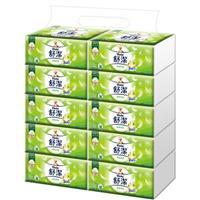 舒潔棉柔舒適抽取衛生紙100抽x10包x4串/箱