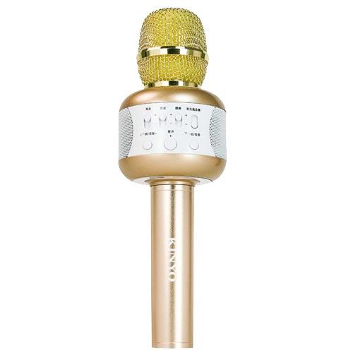 KINYO 藍芽麥克風 行動KTV BDM-500