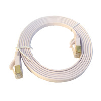 光纖網路專用工程級 CAT7 高速 扁型線 2米