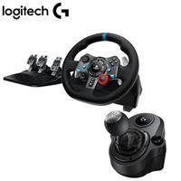 【超值組】Logitech 羅技G29方向盤+Shifter 變速器