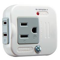安全達人 R-60/O 2P+3P雙用轉接器(2座)(新安規)