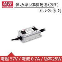 MW明緯 XLG-25-AB 恒功率LED驅動器(25W)