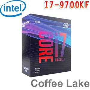 Intel英特爾 Core i7-9700KF 處理器 (無內顯功能)