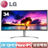 LG 34型 Nano IPS 21:9 HDR曲面電競螢幕 34WK95C-W