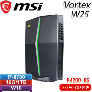 MSI微星 Vortex W25 8SL-079TW 桌上型繪圖工作站 P4200