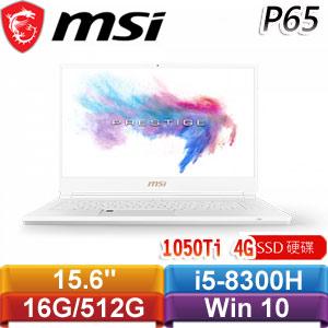 MSI微星 P65 Creator 8RD-208TW 15.6吋薄邊框新世代筆電(銀)