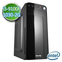 技嘉B360平台【EPC9I3B3603】i3四核 GT1030-2G獨顯 2TB效能電腦
