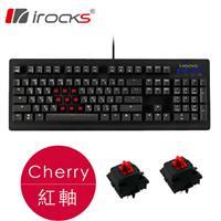i-Rocks 艾芮克 IRK65MN 機械電競鍵盤 cherry 紅軸 中文