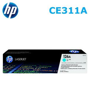 HP 126A/CE311A 原廠碳粉匣 青藍