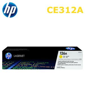 HP 126A/CE312A 原廠碳粉匣 黃