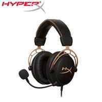 HyperX 金士頓 Cloud Alpha專業電競耳機金色限量版 (HX-HSCA-GD/NAP)