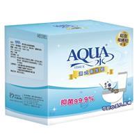 【AQUA水】 濕式衛生紙 超值箱購組 (48抽x12包+10抽x12包/箱)
