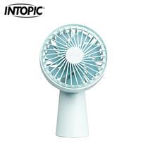 INTOPIC 小風車兩用風扇 FAN-07-BL 藍