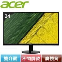 Acer 宏碁 SA240Y A 24型 IPS薄邊寬螢幕