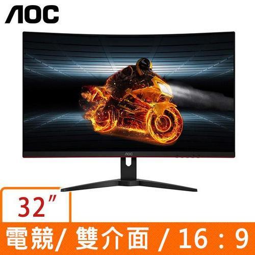 AOC CQ32G1 32型 16:9 VA曲面液晶螢幕