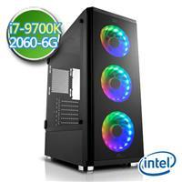 技嘉Z390平台【闇焱天葬】i7八核 RTX2060-6G獨顯 SSD 240G效能電腦