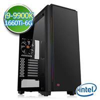 技嘉Z390平台【蒼輝軍令】i9八核 GTX1660Ti-6G獨顯 SSD 240G效能電腦