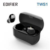 Edifier 漫步者 TWS1 真無線立體聲藍牙耳機 黑