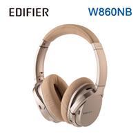 Edifier 漫步者 W860NB主動抗噪立體聲全罩式藍牙耳機 香檳金