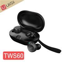 UiiSii TWS60入耳式真無線藍牙5.0耳機 黑