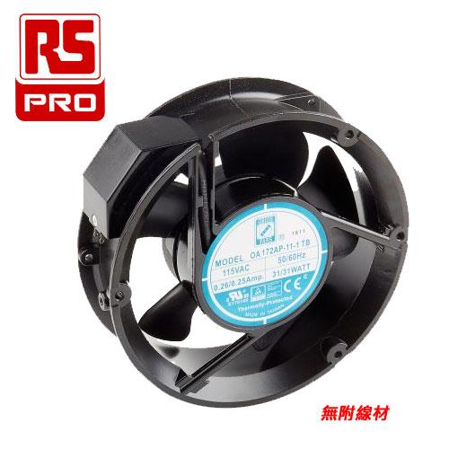 RS PRO AC雙滾珠風扇 35W