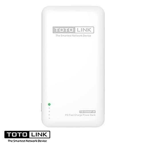TOTOLINK PD雙快充Type-C 雙向行動電源-紳士白