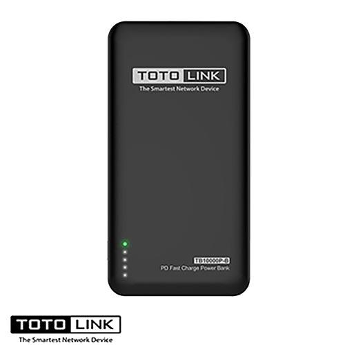 TOTOLINK PD雙快充Type-C 雙向行動電源 雅痞黑