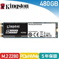 金士頓Kingston A1000 480GB SSD 固態硬碟 (SA1000M8/480G)