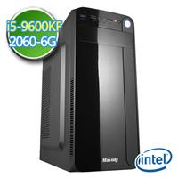 技嘉Z390平台【EP9I5Z39U09】i5六核 RTX2060-6G獨顯 2TB效能電腦