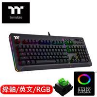 Thermaltake 曜越 Level 20 RGB 機械式電競鍵盤 Razer綠軸 英文版