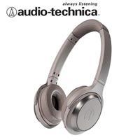 鐵三角ATH-WS330BT無線耳罩式耳機(卡其色)