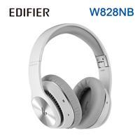 Edifier W828NB主動抗噪立體聲全罩式藍牙耳機 白