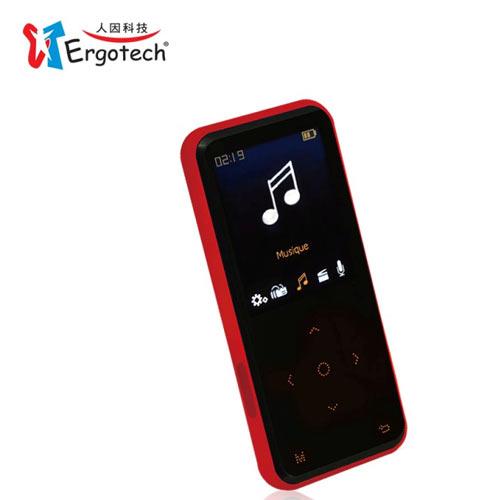 人因UC530CR MP4 PLAYER 8GB 黑紅
