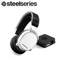 SteelSeries 賽睿 Arctis Pro 無線電競耳機麥克風 (白)