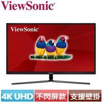 R1【福利品】ViewSonic優派 32型 4K超高解析電競螢幕 VX3211-4K-MHD