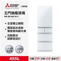 三菱455L旗艦美型五門冰箱白  MR-BC46Z-W-C