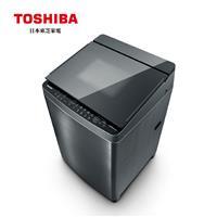 TOSHIBA 17公斤鍍膜奈米泡泡變頻洗衣機  AW-DMUH17WAG
