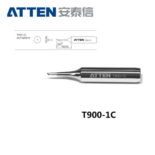 ATTEN安泰信 T900系列 1C斜面烙鐵頭 T900-1C