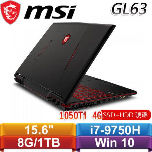 MSI微星 GL63 9RCX-209TW 15.6吋戰鬥電競筆電