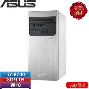 ASUS華碩 H-S640MB-I78700017T 桌上型電腦