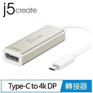 j5 JCA140 USB Type-C to 4K DP 轉接器