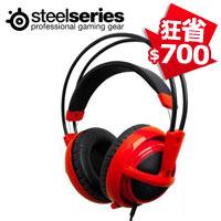 Steelseries 賽睿 Siberia 西伯利亞 V2 電競耳機麥克風 紅