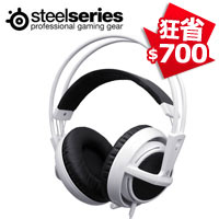 SteelSeries 賽睿 Siberia 西伯利亞 V2 電競耳機麥克風 白