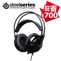 SteelSeries 賽睿 Siberia 西伯利亞 V2 電競耳機麥克風 黑