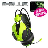 E-Blue 宜博 EHS-014 眼鏡蛇 705 耳機麥克風 綠色