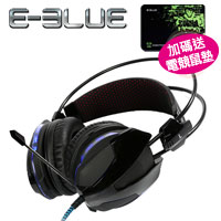 E-Blue 宜博 EHS-014 眼鏡蛇 705 耳機麥克風  黑色