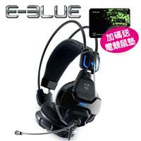 E-Blue 宜博 EHS-016 眼鏡蛇 707耳機麥克風  黑色